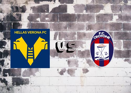 Hellas Verona vs Crotone  Resumen