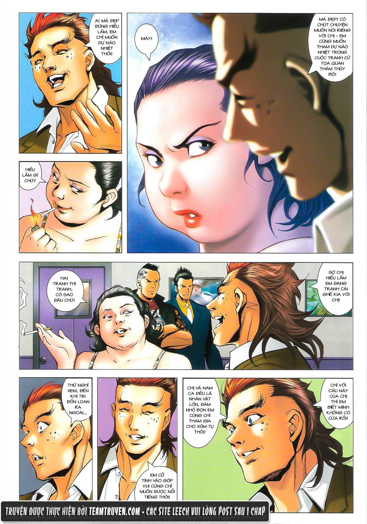 Người Trong Giang Hồ chapter 1627: sợ vỡ mật trang 4