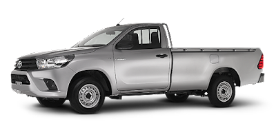 New Toyota Hilux 2017 off road truck side view