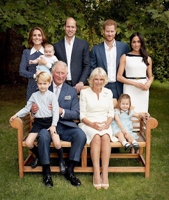 Prince of Wales,Prince Charles and his family in official photos to celebrate his 70th birthday