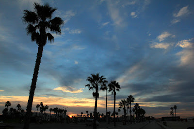 Sunrise Venice Beach - Photo by Mademoiselle Mermaid