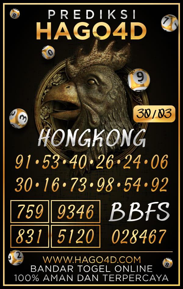 Prediksi Hago4D - Selasa, 30 Maret 2021 - Prediksi Togel Hongkong