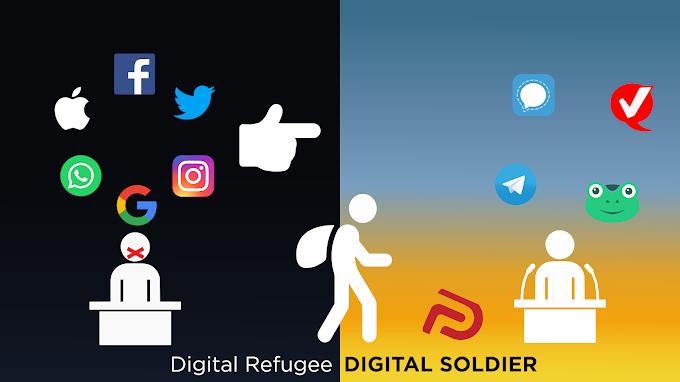 Soy un Soldado Digital y a la vez un Refugiado Digital