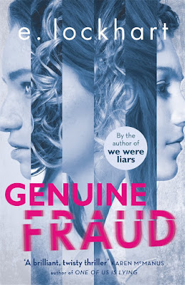 Genuine Fraud by E. Lockhart Book Cover