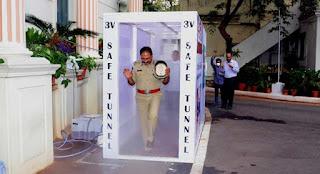 'V Safe Tunnel'- Installed at Telangana