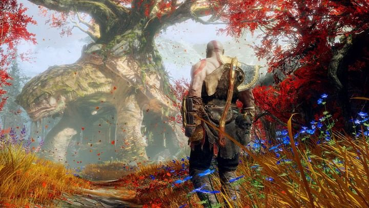 God of War on PS5 at 4K / 60fps; update today
