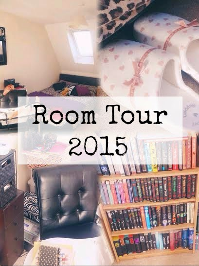 Room tour 2015, my bedroom and books