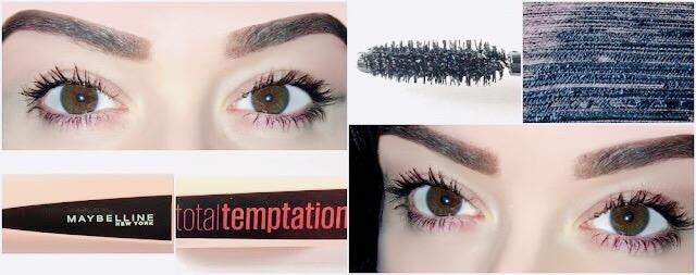 MAYBELLINE NEW YORK Mascara Volume Total Temptation - Black Mascara - swatche