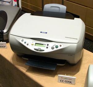 Epson Colorio CC-570Lドライバーのダウンロード