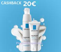 Logo La Roche Posay Cashback Toleriane : 20 euro di rimborso