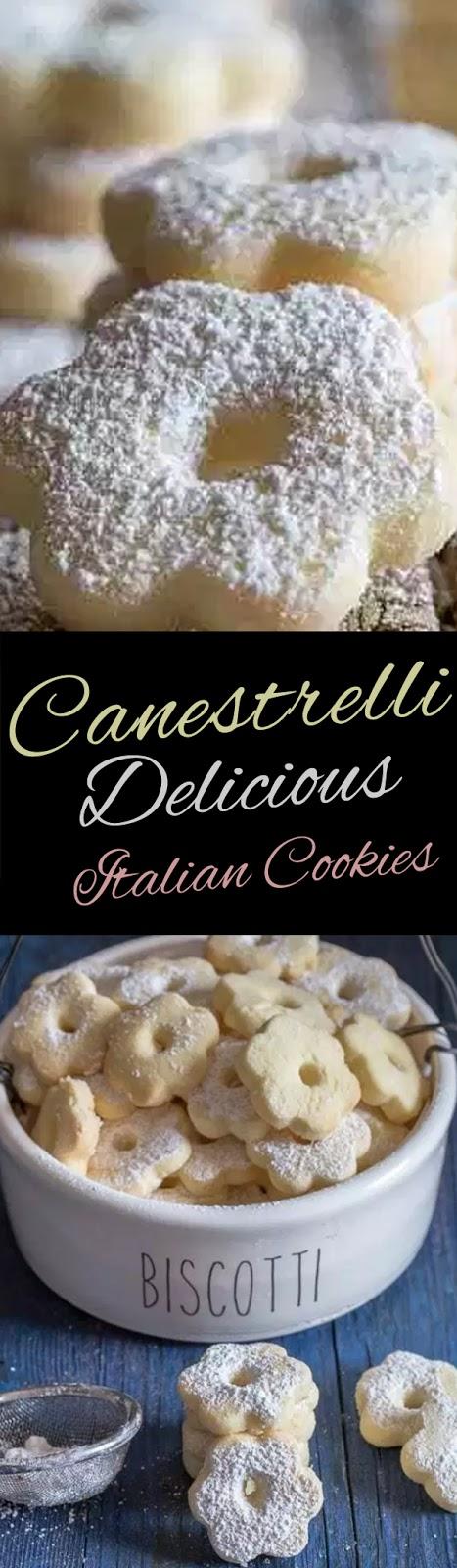 Canestrelli Delicious Italian Cookies