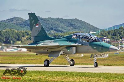 Pesawat T-50i TNI AU (photo : Motty)