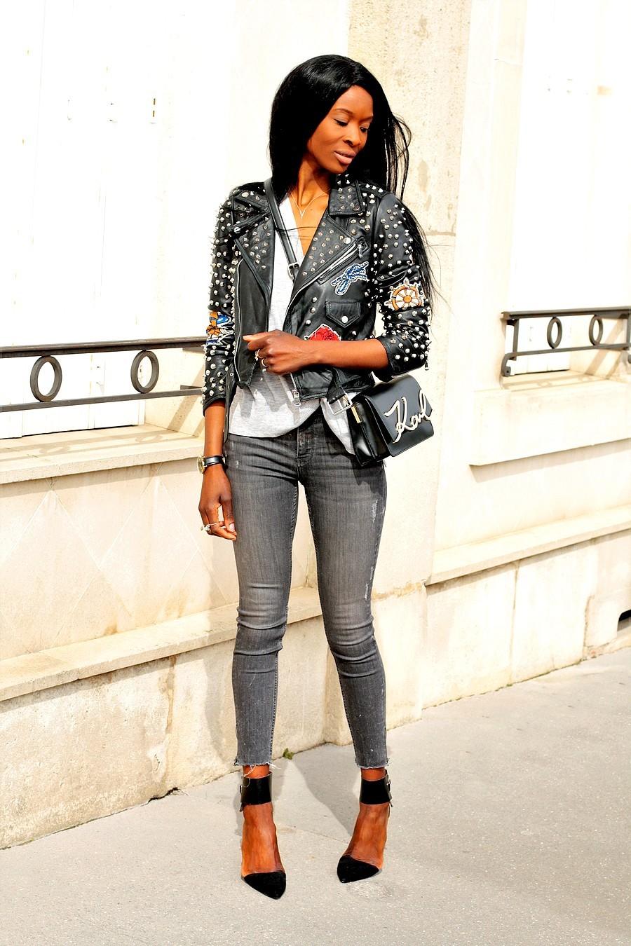 sac-karl-lagerfeld-perfecto-cuir-zara-jeans-dechire