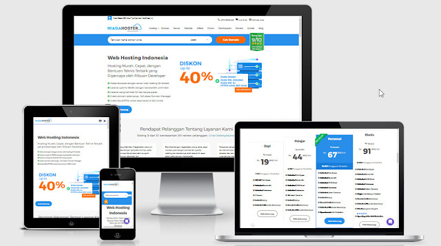 Review Niagahoster.co.id Web Hosting Terbaik di Indonesia