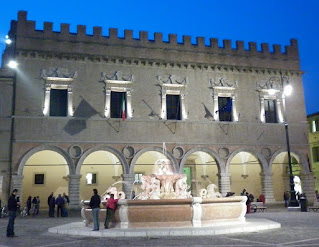 The Renaissance Palazzo Ducale in Pesaro, one of many attractions away from the beach