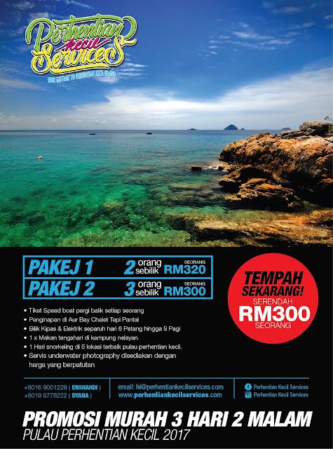 Pakej pulau perhentian kecil , pakej perhentian besar 2017 , terengganu , malaysia