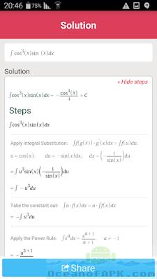 تطبيق حساب المعدلات الرياضية Symbolab مدفوع للاندرويد, تطبيق symbolab للأندرويد, تطبيق symbolab مدفوع للأندرويد, تطبيق symbolab مهكر للأندرويد, تطبيق symbolab كامل للأندرويد