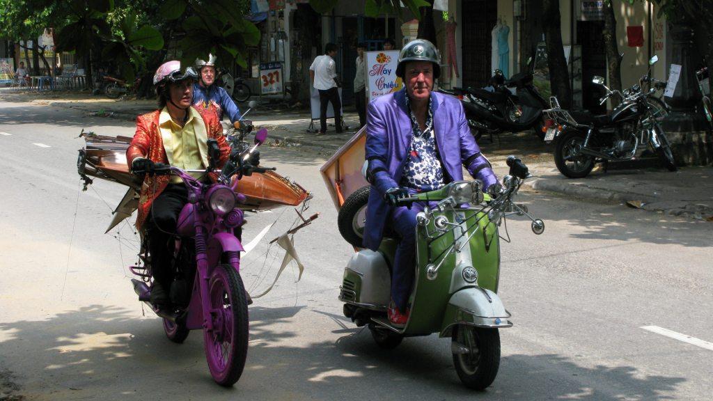 Джереми Кларксон, Джеймс Мэй и Ричард Хаммонд во Вьетнаме
