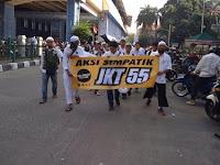 Peserta Aksi 55 dari Bali Tak Ikut Ketinggalan Datang Murni untuk Menegakkan Keadilan