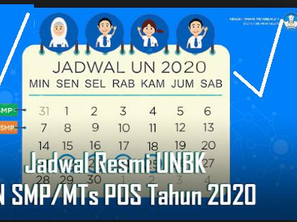 Jadwal Resmi UNBK SMP,SMA/SMK Tahun 2020 dari Puspendik Kapan Rilis?