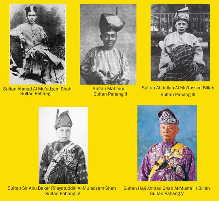 Senarai Sultan Pahang