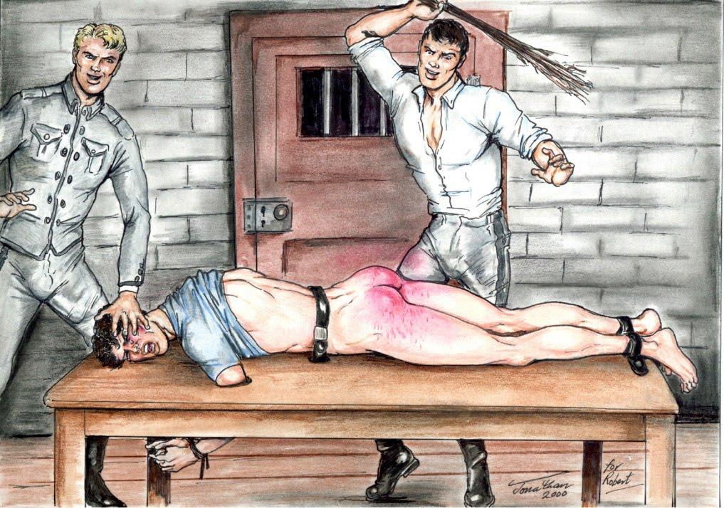 Gay toon spankings