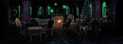 La sala comune dei Serpeverde (Momento 3)