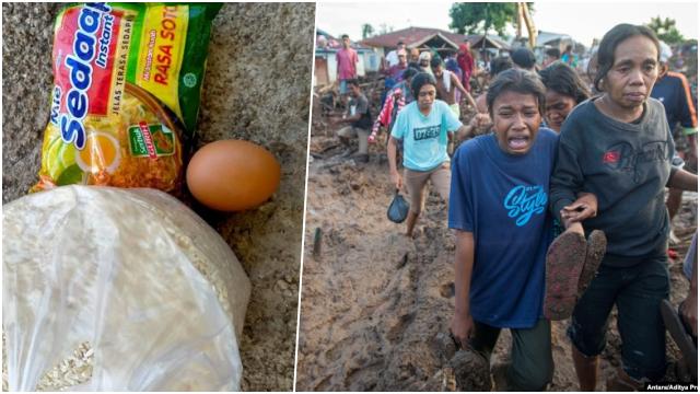 Dapat Bantuan 1 Butir Telur dan Sebungkus Mi Sedap, Korban Bencana NTT: Ini Menghina Kami