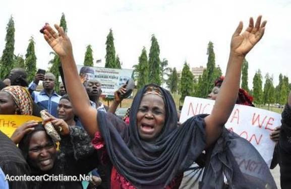 Persecución de cristianos Nigeria