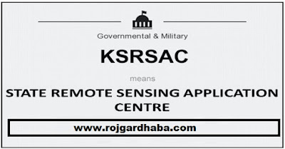 KSRSAC Recruitment 2017 | Karnataka State Remote Sensing Applications Centre Jobs