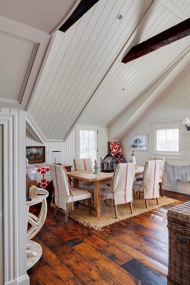 Biały domek w wiejskim stylu, wystrój wnętrz, wnętrza, urządzanie domu, dekoracje wnętrz, aranżacja wnętrz, inspiracje wnętrz,interior design , dom i wnętrze, aranżacja mieszkania, modne wnętrza, styl wiejski, styl rustykalny, białe wnętrza, jadalnia