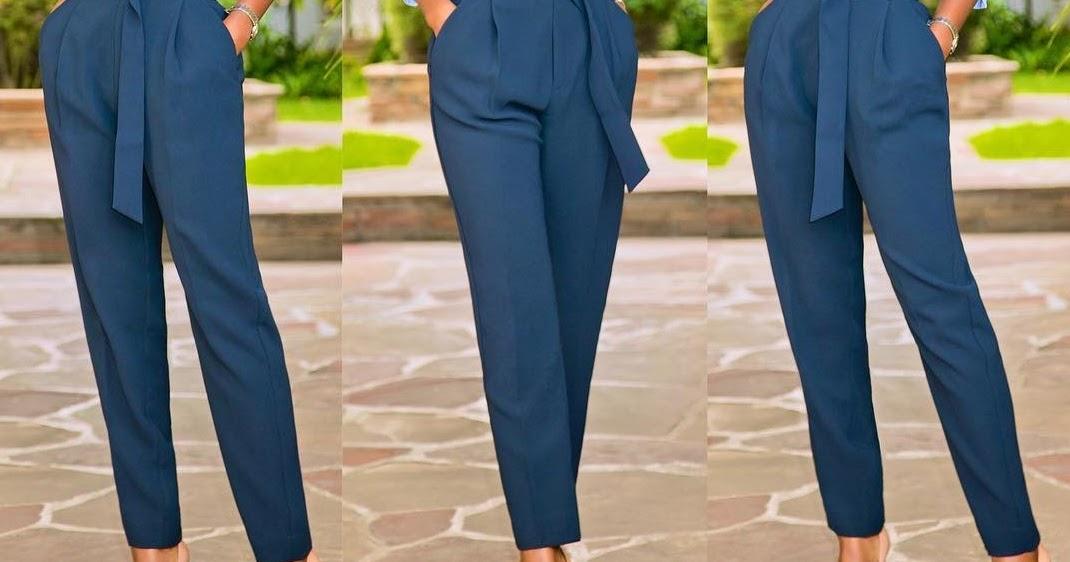 Pantalone sa visokim strukom (Kombinacije koje cete obozavati ove sezone) - V...