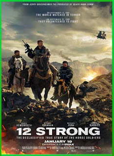 12 Strong (Tropa de héroes) (2018) | DVDRip Latino HD GDrive 1 Link