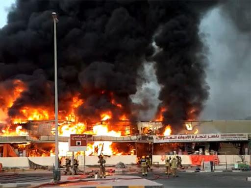 Dubai fire outbreak