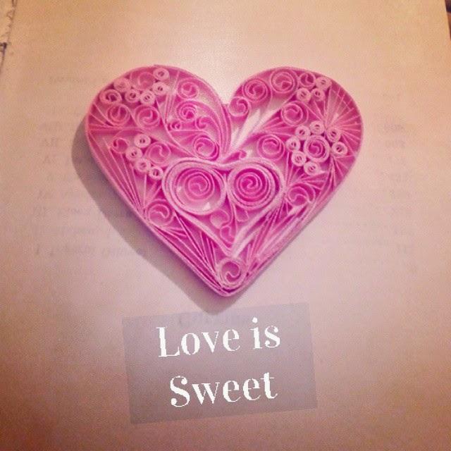 inima quilling decoratiune handmade sfantul valentin