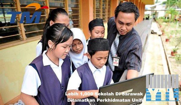 Lebih 1,000 Sekolah Di Sarawak Ditamatkan Perkhidmatan Unifi