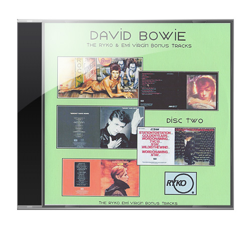 David Bowie - The Ryko & Emi Virgin bonus tracks