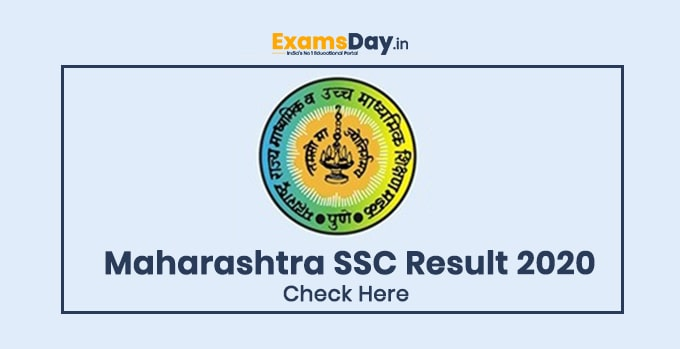 Maharashtra State Board SSC Result 2020 Date