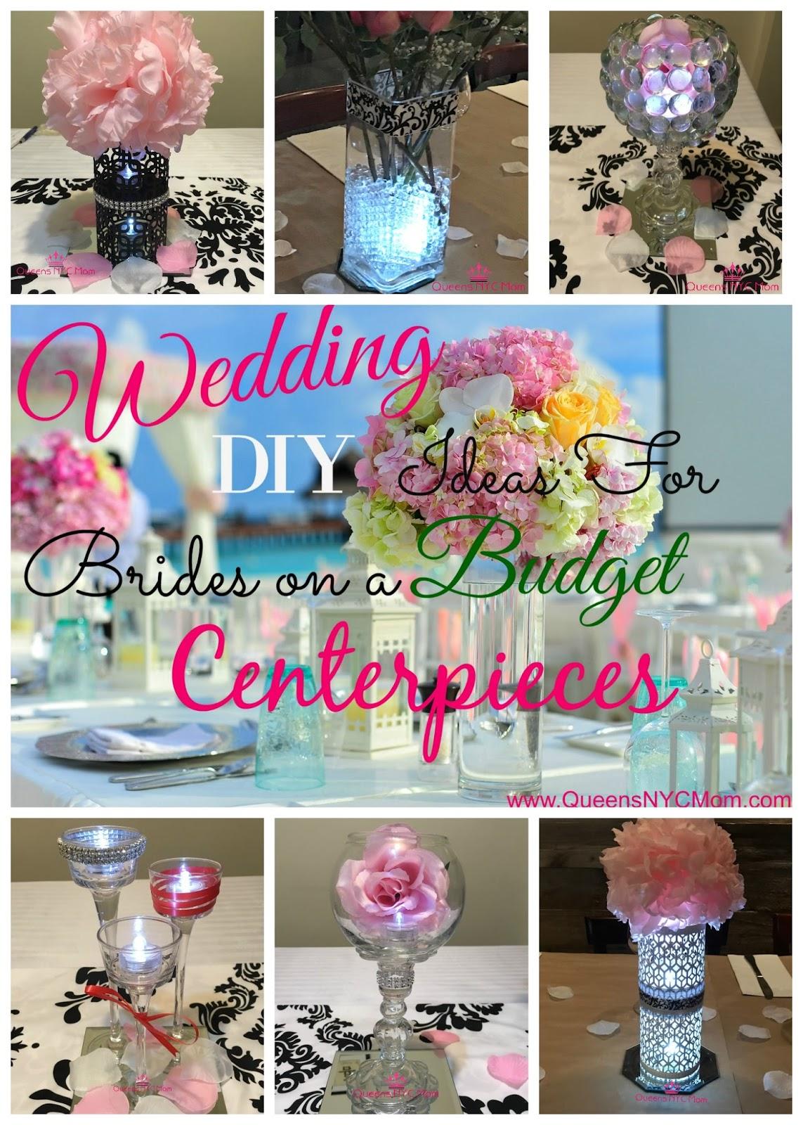 Wedding Diy Ideas For Brides On A Budget Centerpieces Queensnycmom