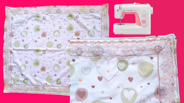 Pazen bebek battaniyesi dikimi nasıl yapılır? - Pazen bebek battaniyesi kumaşı ölçüleri