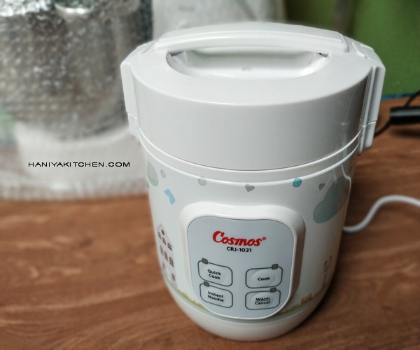 REVIEW COSMOS MINI RICE COOKER DIGITAL CRJ-1031