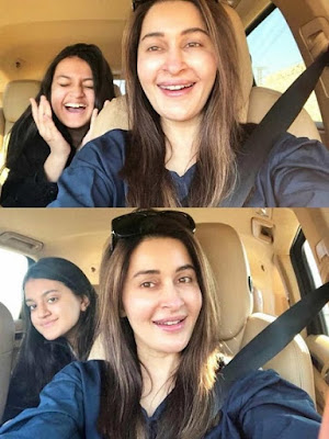 Shaista Lodhi With Her Daughter