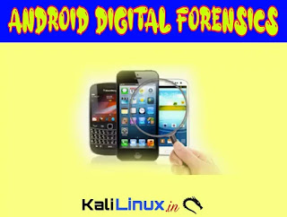 Andriller Digital Forencics of Android on Kali Linux