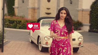 Keerthy Suresh in Pink with Cute and Lovely Smile in Reliance Trends Ad