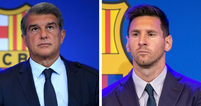 Laporta reacts to Leo's departure from Barca: I watched Messi's debut for PSG. I didn't like it
