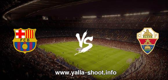 نتيجة مباراة برشلونة والتشي اليوم الأحد 24-1-2021 يلا شوت الجديد في الدوري الاسباني
