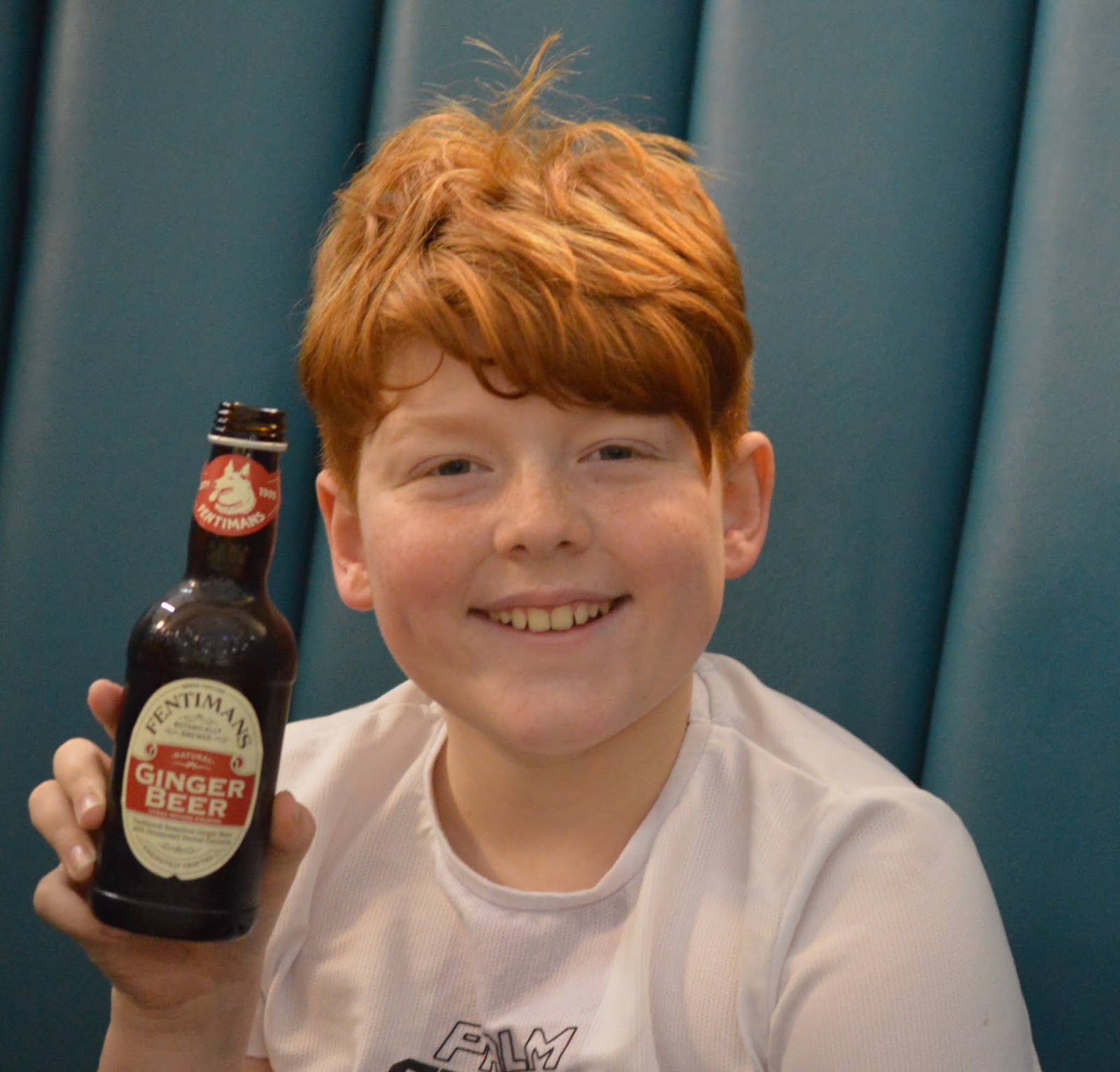 Fish and Chips with Kids at Trenchers, Spanish City - A Review - fentimans ginger beer