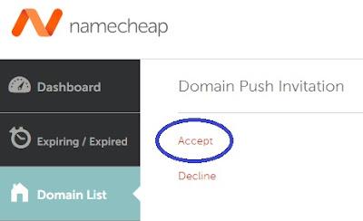 Cara Mengganti Owner / Pemilik Domain di Namecheap