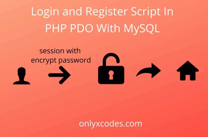 Login And Register Script In Php Pdo With Mysql Onlyxcodes
