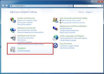 Cara Mudah Mengaktifkan Telnet Pada Windows